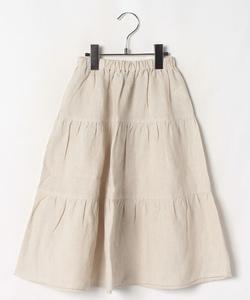 【セットアップ対応商品】UAW6 JUPE キッズ ティアードスカート