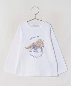 SCY7 E TS キッズ ダイナソーTシャツ