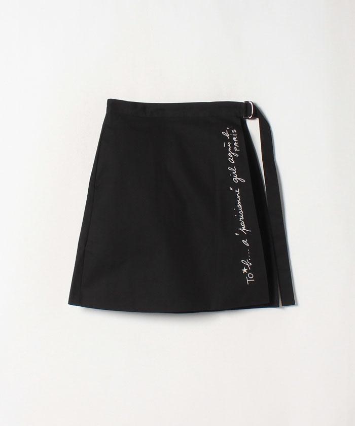 WK24 JUPE ラップスカート