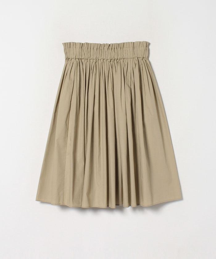 WP74 JUPE タックギャザースカート