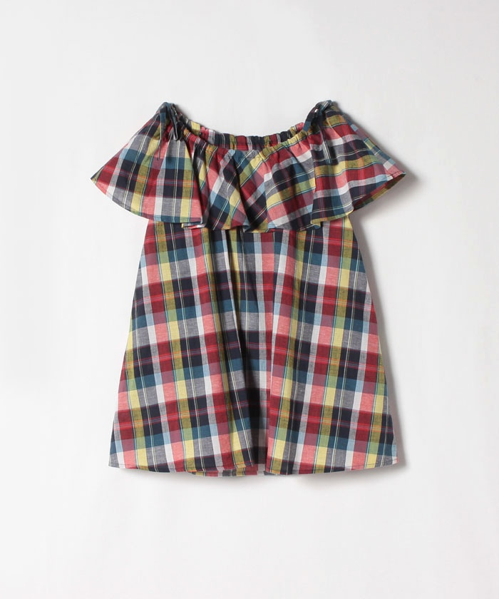 【Outlet】WP15 CHEMISE マドラスチェックブラウス