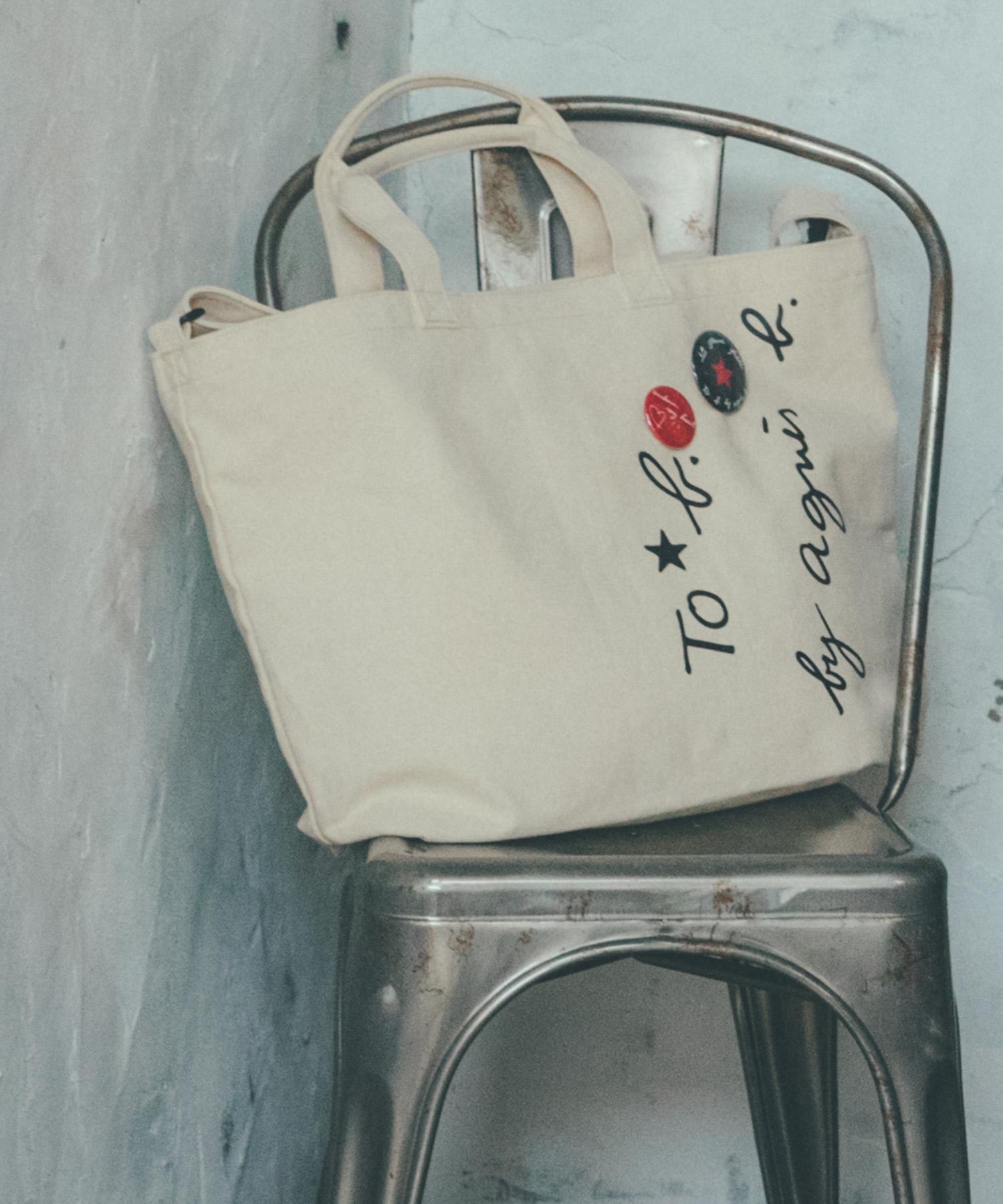 【WEB限定】WQ71 SAC 2wayロゴトートバッグ