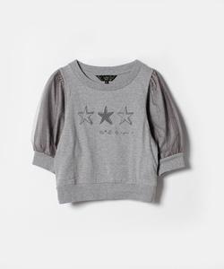 WL85 TS チュール袖Tシャツ