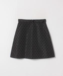 WM25 JUPE ドットジャガードスカート