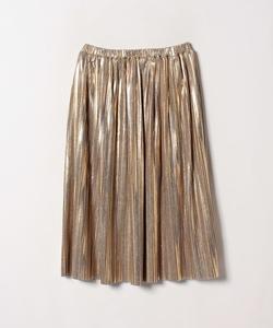WM24 JUPE サテンプリーツスカート