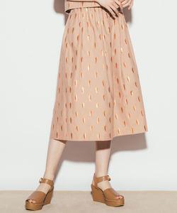 WN62 JUPE ラメリーフスカート
