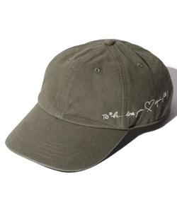 WN19 CAP メッセージ刺繍キャップ