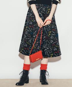 WO04 JUPE メッセージスカート
