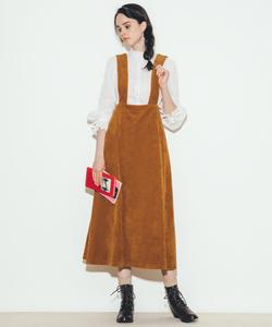 WO17 JUPE コーデュロイ ジャンパースカート