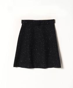 WN72 JUPE ネップツイードスカート