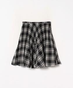 WL53 JUPE チェックプリーツスカート