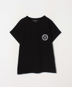 W984 TS ワッペンプリントTシャツ
