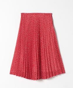WO96 JUPE ランダムドットプリーツスカート