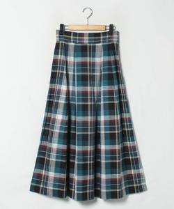 WM85 JUPE チェックロングスカート