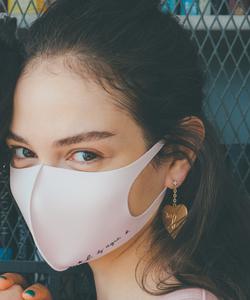 WQ92 MASK ロゴファッションマスク