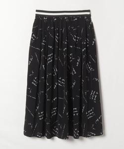 WP84 JUPE メッセージスカート
