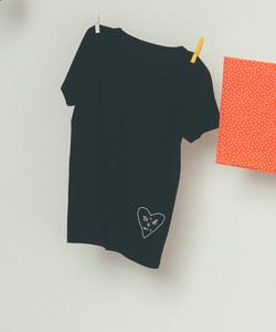 W984 TS ハートロゴTシャツ