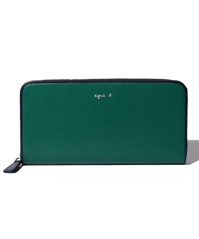 金運&運気アップする緑の財布のおすすめagnès b.のVOYAGE FEMME ロングウォレット