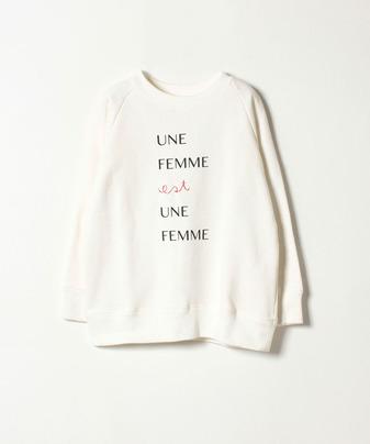 FEMME スウェットトップス