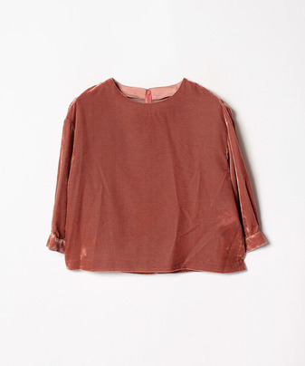 【Loulou Willoughby】【セットアップ対応商品】クラッシュベルベットBL