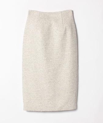 ブライトツイードタイトスカート