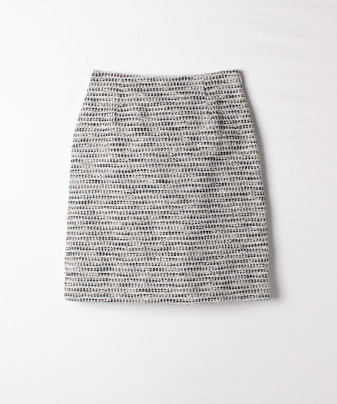 【Loulou Willoughby】【セットアップ対応商品】ミックスツイード台形SK