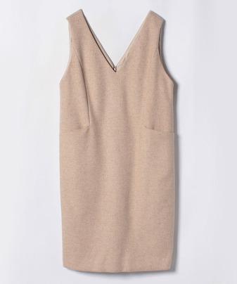 ウールツイルジャンパースカート
