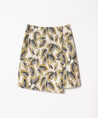 リーフジャガードラップスカート