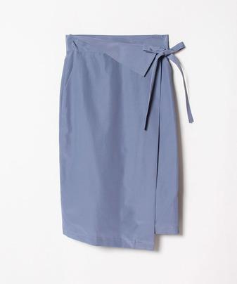 ラップベルテッドスカート