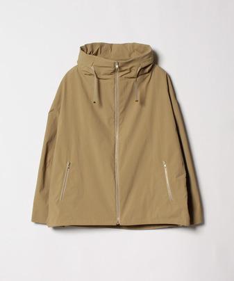 ポリエステルタッサーフードジャケット