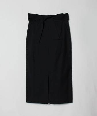 オックスフロントスリットスカート