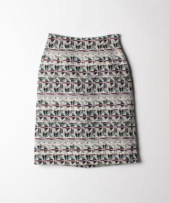 キカジャガードタイトスカート