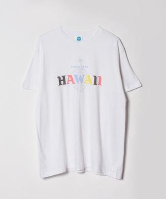HAWAIIロゴTシャツ