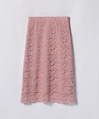 【Loulou Willoughby】【セットアップ対応商品】レースAラインスカート