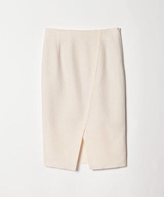 ブークレーアシメスリットスカート