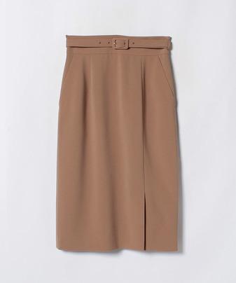 【セットアップ対応商品】トリアセダブルクロスタイトスカート