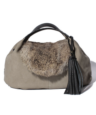 VIOLA FUR WRAP BAG