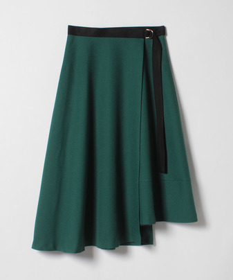 エスウールラップアシメスカート