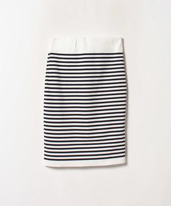 ボーダーハイウエストスカート