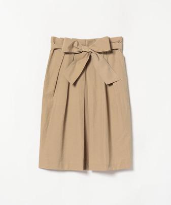 コットンナイロンタンブラーコクーンスカート