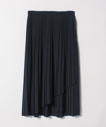 デシンラッププリーツスカート