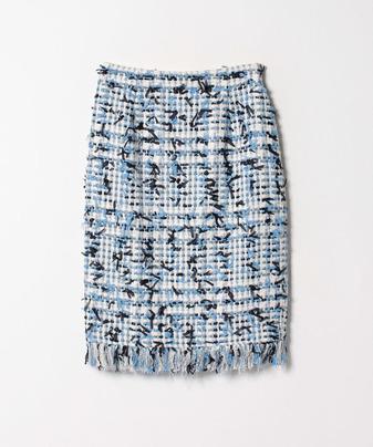 リボンヤーンツィードスカート