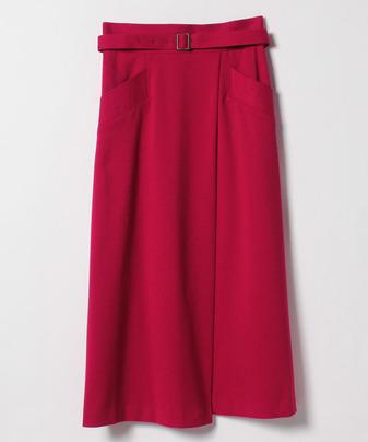 ギャバロングAラインスカート