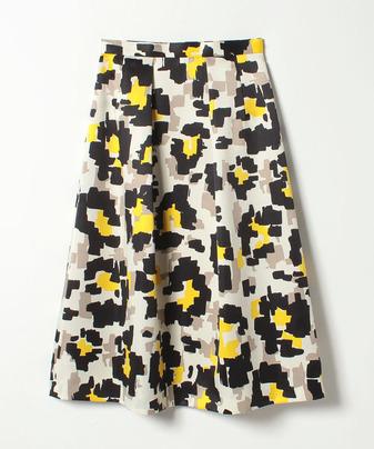 ビッグキカチドリプリントスカート