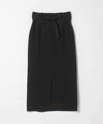 【セットアップ対応商品】ダブルフェイスニットスカート