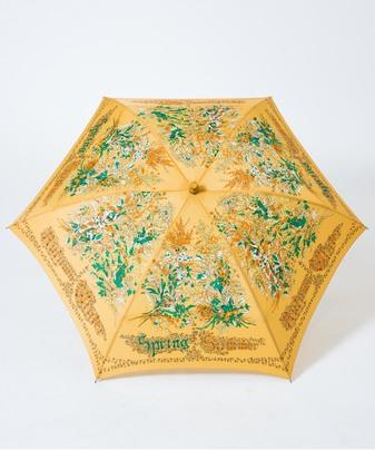 【manipuri(マニプリ)】プリント 晴雨兼用 折りたたみ傘