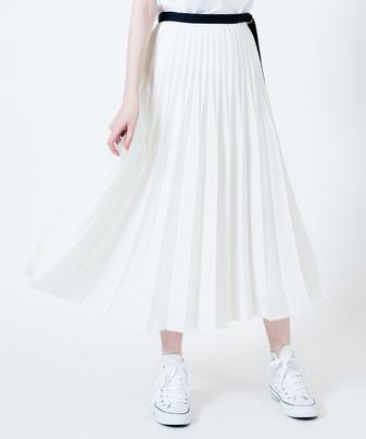 リングベルトプリーツスカート