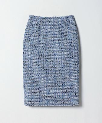 【セットアップ対応商品】【Loulou Willoughby】リリヤーンドットツイードタイトスカート