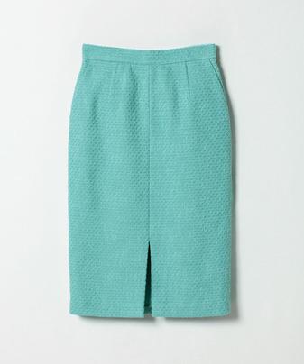 【セットアップ対応商品】【Loulou Willoughby】ソリッドツイードタイトスカート