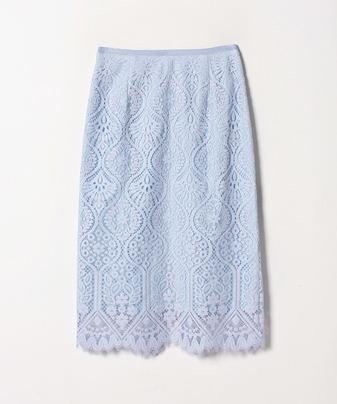 ハイショクビッグモチーフレーススカート